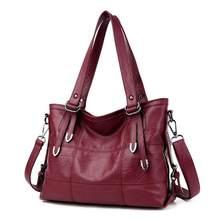 Grands sacs à Main rétro pour femmes, fourre-tout de luxe, couleur unie, tendance