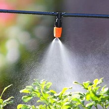 Get more info on the 10Pcs/Set Garden Sprinklers Watering Control Sprayer Micro Drip Irrigation Atomization Nozzle Mist Sprinkler With Hose Connector