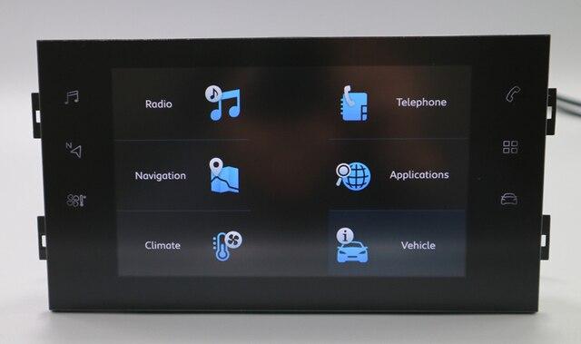 Dla Peugeot Citroen modele duży odtwarzacz z ekranem Radio RCC zdalna jednostka sterująca 10.2 Cal wsparcie klimatyzacja Displa RCC NAC