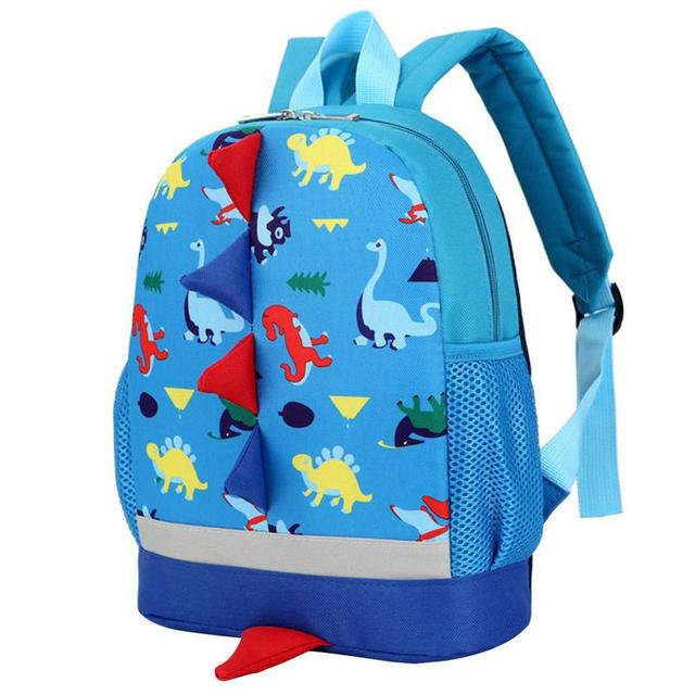 f480b2a23827 Dinosaur Children Backpack For Boys Girls Kids Kindergarten Schoolbag Bag  Small Class Fashion School Bags Cute