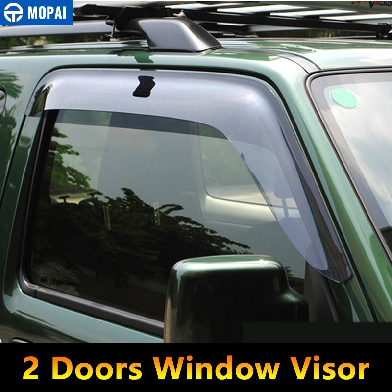 Image 2 - MOPAI Awnings Shelters Cover for Suzuki Jimny 2007 2017 Resin Car Weather Shields Windshield Window Visors Car Accessories-in Awnings & Shelters from Automobiles & Motorcycles