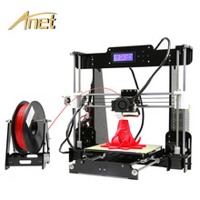 Anet A8 3D Printer High quality FDM Prusa i3 Kit Metal Frame Excellent Diy 3d Printing
