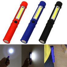 New Portable Mini Light Working Inspection light COB LED Multifunction Maintenance flashlight Hand Torch lamp With Magnet AAA(China)