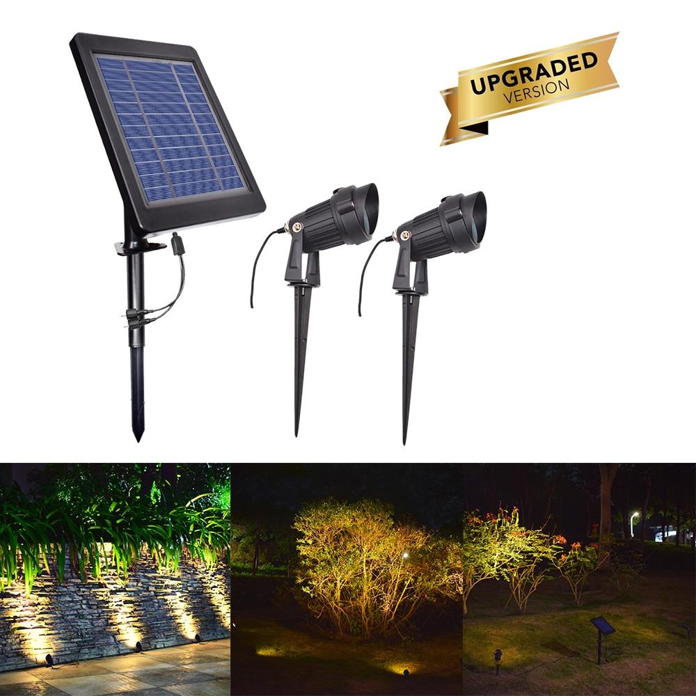 Solar LED Light Underwater Pond Light Waterproof 3 Submersible Lamps Projector Light Garden Led Pool Light