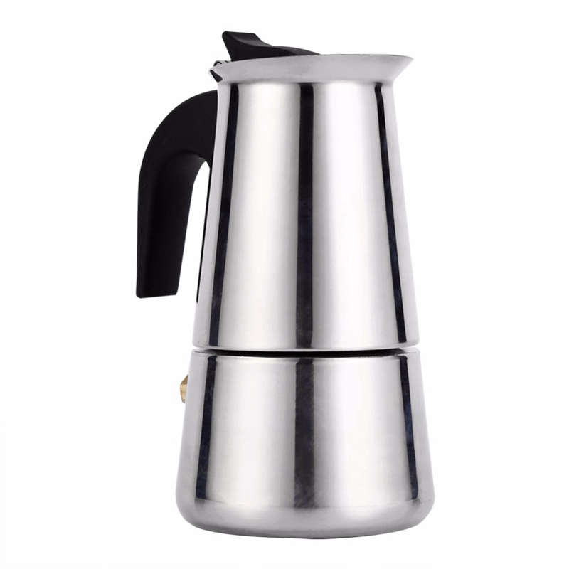 Stainless Steel Moka Coffee Maker Mocha Espresso Latte Stovetop Filter Coffee Pot Percolator Tools Cafetiere Coffee Maker Pot