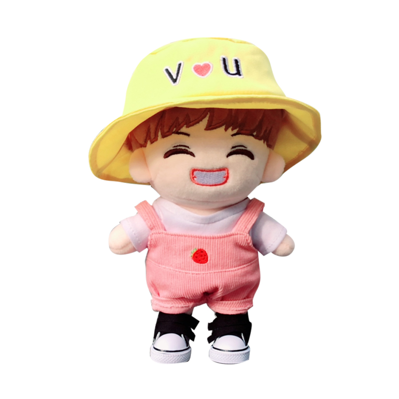 Painstaking 2018 Sgdoll Kpop Bts V Fashion Plush Bangtan Boys Kim Tae Hyung Toys Stuffed Doll New Fans Gift Cute 20cm/8inch Outstanding Features Dolls & Stuffed Toys