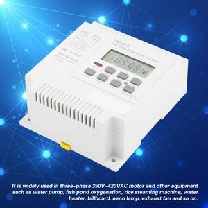 Image 3 - TM 163 programlanabilir zaman rölesi 3 fazlı zaman anahtarı 380V dijital mikrobilgisayar kontrolü zaman rölesi su pompası zamanlayıcı anahtarı beyaz