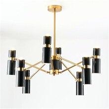 Post-modern LED Chandelier Lighting Living Room Decoration Restaurant Kitchen Fixtures Luminaire Avize