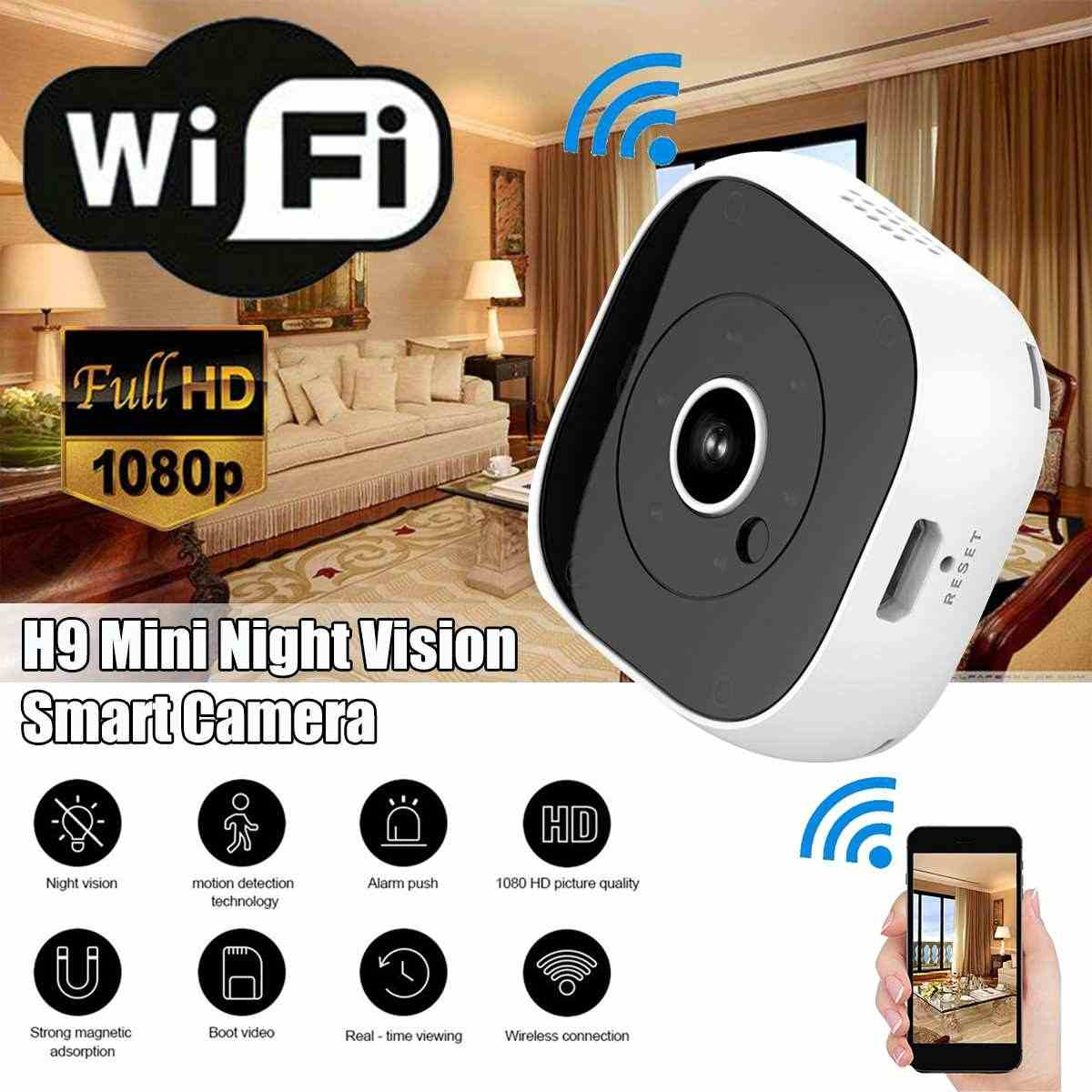 Detail Feedback Questions about A9 Wifi Mini Camera Full HD