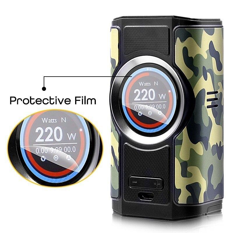 Cigarrillo electrónico Mod aspirar Dynamo 220W 510 hilo Vape soporte VW VV Bypass CPS TC TCR modos con pantalla TFT de 2 pulgadas - 3