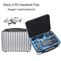 Dji mavic 2 프로 스토리지 가방에 대 한 핸드백 dji mavic 2 줌 드론 4 k 보호 가방 액세서리에 대 한 pc 하드 쉘 케이스 상자