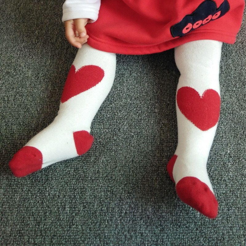 2019 Spring And Autumn New Style Infants Baby Cotton Pp Red Lovely Leggings Children Wholesale Pantyhose