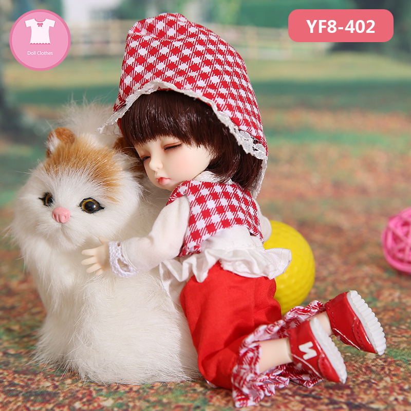 BJD Clothes 1/8 For Pukifee Body Sexy Dress Beautiful Doll Clothes Repair Girl Body OUENEIFS Doll Accessories