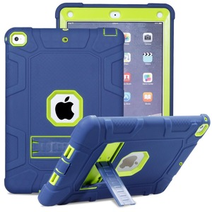 Image 1 - Shockproof Heavy Duty Rubber Hard Stand Case Cover For iPad 9.7 2018 Case 6th Gen A1893  A1954 2017 5th Gen A1822 A1823