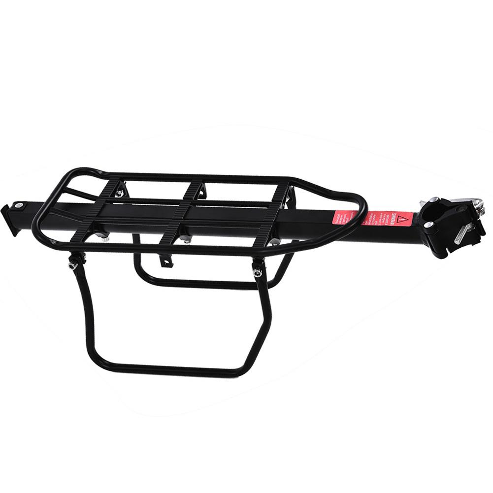 Bike Bicycle Cycling Quick Release Rear Rack Seat Post Pannier Carrier Luggage