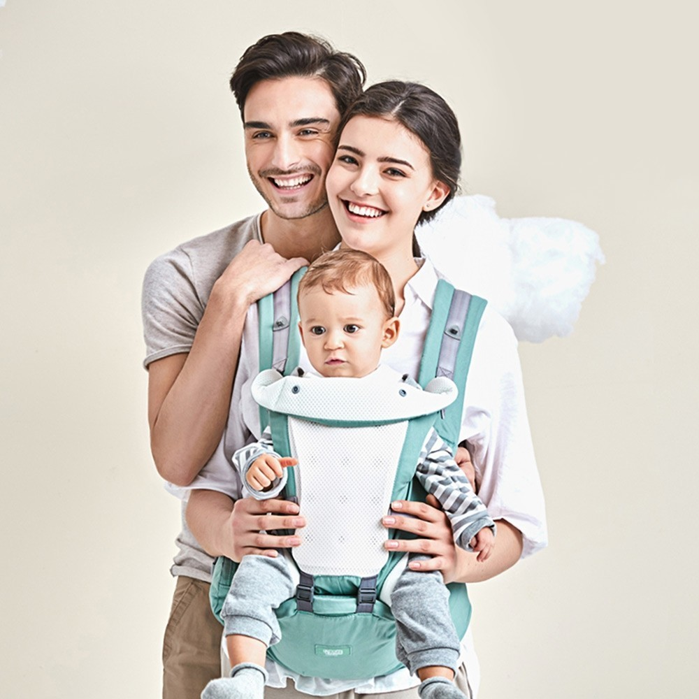 Beth Bear Baby Carrier 4 In 1 Hipseat Mochila Infantil Canguru Baby Bethbear Backpacks Sling Carriers Newborn 0-36 Month gabesy baby carrier ergonomic carrier backpack hipseat