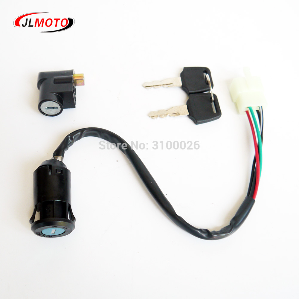 Full Electrics wiring harness CDI Ignition coil Rectifier Switch