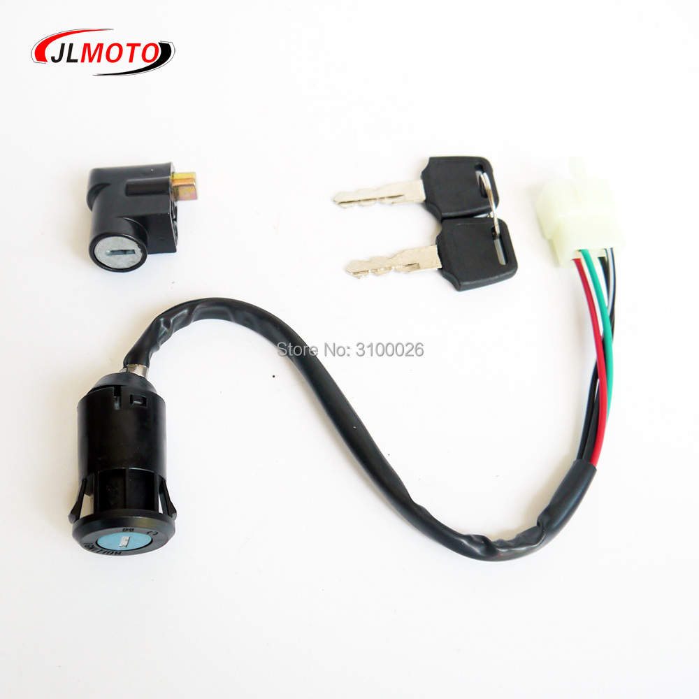 Key Switch ATV Jinling 250cc 300cc Parts EEC JLA-21B,JLA-931E,JLA-923