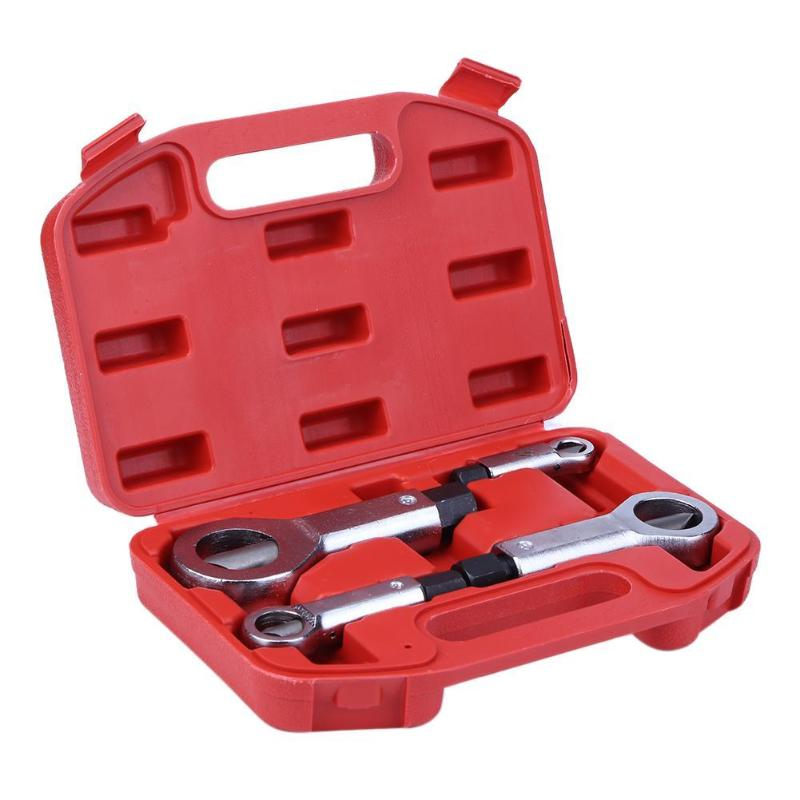 9-27mm Professional Nut Splitter Cracker Remover Extractor Tool Set Rust Nut Removal Puller Break Damaged Screw Repair Tool