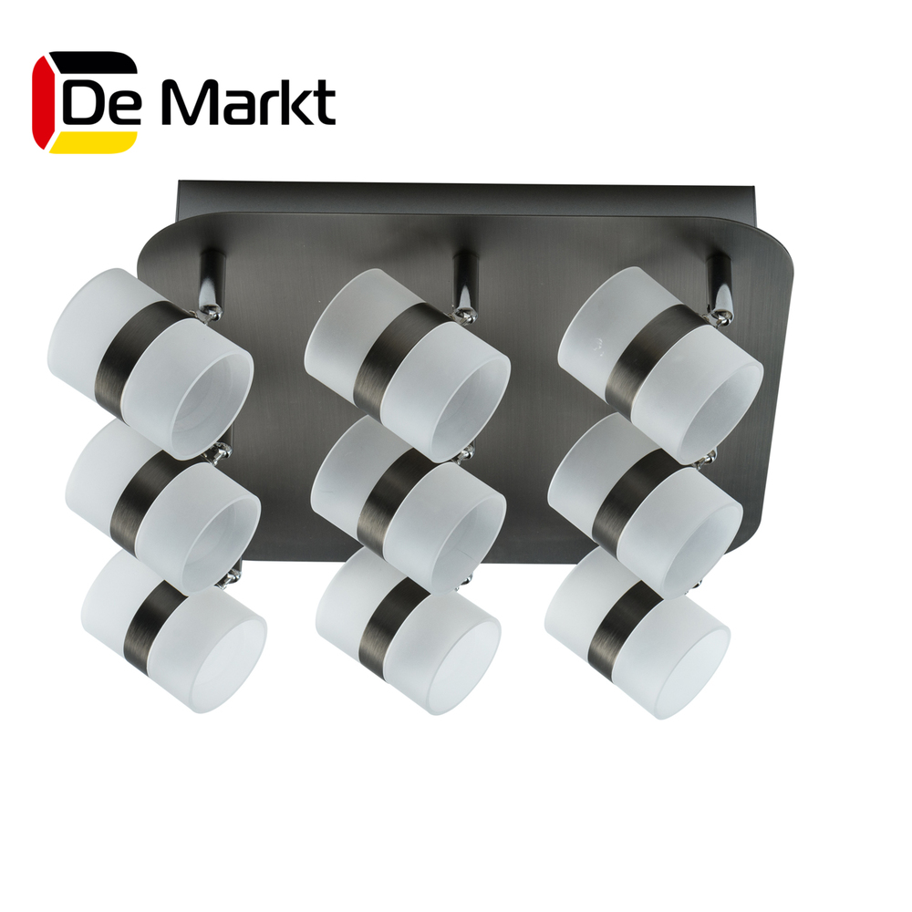 LED Bar Lights De Markt 704011009 lamp Mounted On the Indoor Lighting  Chandelier best full spectrum 300w 60x5w led grow light for personal hydroponics indoor greenhouse grow tent box plant growth led lamp