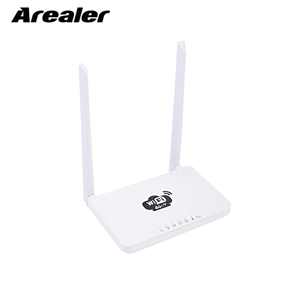 4G Wireless Wifi Router LTE 300Mbps Mobile MiFi Portable Hotspot Wifi Router with SIM Card Slot US EU Plug-in Wireless Routers from Computer & Office    1