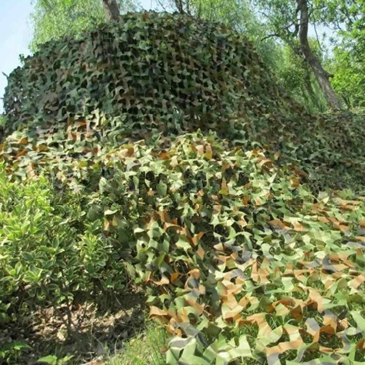 1.5x6 2x2 2x5 2x6 2x7 2x8 2.5x5 3x6 Jungle Camo Rete Camouflage Net per la Copertura Auto di Campeggio Woodland Militare di Caccia