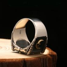 Vintage 925 Sterling Silver Masonic Rings For Men
