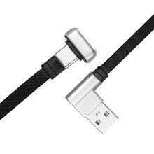 Кабель для быстрой зарядки на 180 градусов, кабель для зарядки и передачи данных из цинкового сплава Usb, кабель для зарядки телефона type-C, черный, 1,2 м, 1,8 м, красный, синий, 1,2 м