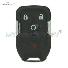 цена на Remtekey Replacement smart car key shell case for 2015 Chevrolet Suburban Tahoe HYQ1EA 4 button