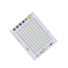 CLAITE AC190-240V 50W SMD2835 LED Chip Light Smart IC Driver DIY For Non-waterproof Floodlight Spotlight(China)