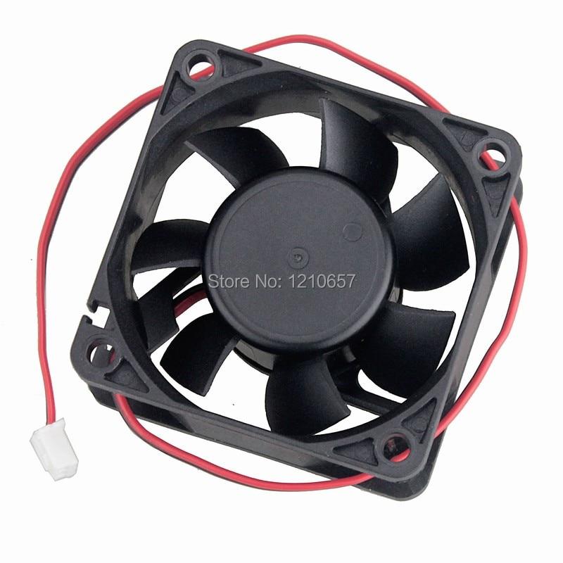 12V 60mm 25mm Cooling Case Fan 60x60x25mm PC CPU Computer Cooler Fan 2pin 6025S