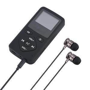 Image 2 - แบบพกพา DAB + วิทยุ + สถานี FM แฮนด์ฟรี Bluetooth MP3 พร้อมหูฟังแบตเตอรี่ในตัว TF Card สล็อต