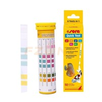 Sera 5 In 1 Easy Testing Strips PH GH KH NO2 NO3 Test Kit For Aquarium Tank Water Moniting