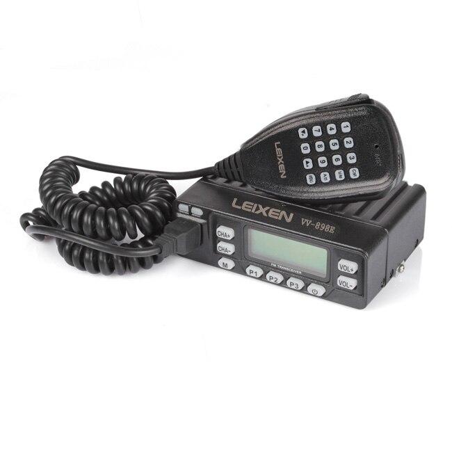 VV-898E DualBand 5W/10W/25W Transceiver VHF/UHF 136-174/400-470MHz Mobile Car Vehicle Radio LEIXEN VV-898 Upgrade Version CableVV-898E DualBand 5W/10W/25W Transceiver VHF/UHF 136-174/400-470MHz Mobile Car Vehicle Radio LEIXEN VV-898 Upgrade Version Cable