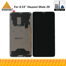 "Originale Axisinternational 6.53 ""Per Huawei Compagno di 20 Schermo LCD Display + Touch Screen del Pannello Digitizer Per Mate20 Display Assembly"