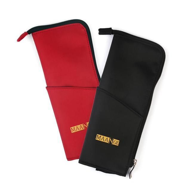 1 pc bolsas de cosméticos Kit de soporte para brochas de maquillaje neceser de viaje para mujer Kit de maquillaje organizador de brochas de almacenamiento profesional