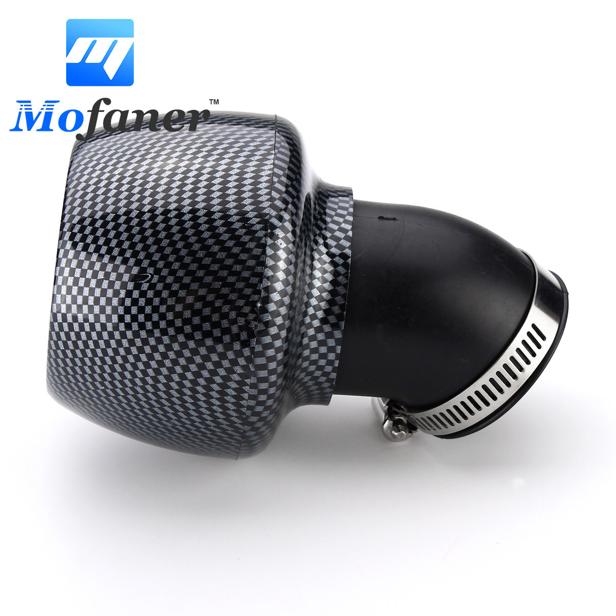42mm Motorcycle Air Filter Carbon Fibre For 150cc 250cc ATV Quad Moped Scooter Go kart42mm Motorcycle Air Filter Carbon Fibre For 150cc 250cc ATV Quad Moped Scooter Go kart