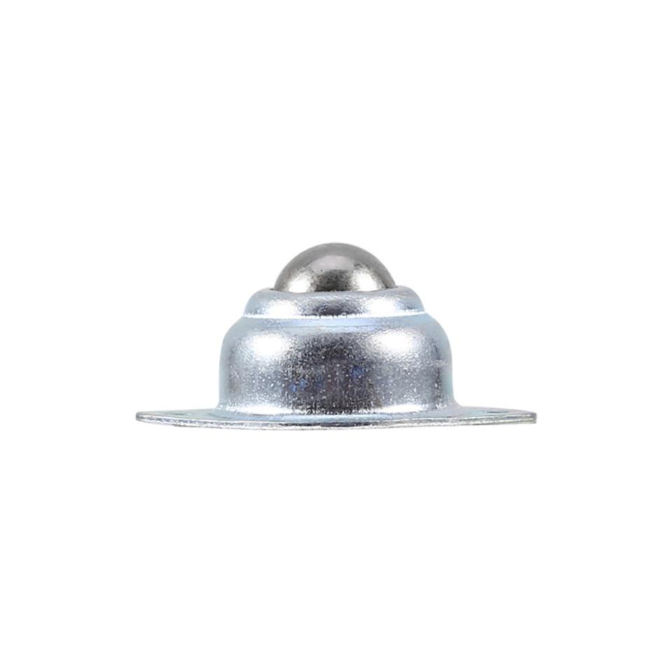 Transfer Bearing 5 Pcs Metal Iron Steel Universal Transfer Bearing Ball Roller Mounted Ball 2 Holes