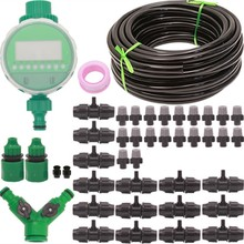 9/12 Tube Gardens Spray Irrigation Suit Atomization Micro Jet Dawdler Automatic The Flowers Organ Timing Controller