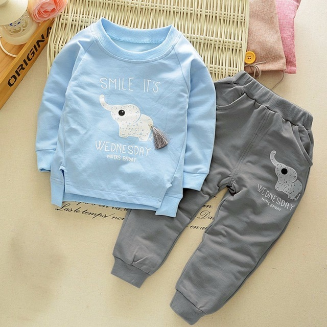 M.Dian xi suit Baby Boys 100% Cotton Long Sleeves Sets/2PCS
