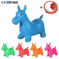 Ordinary Baby Toys Inflatable Bouncing Horse Bouncer Seat Extra large Rubber Horse Best for Physical Therapy Increases Balance