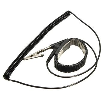 New Adjustable Anti Static Bracelet Electrostatic ESD Discharge Cable Reusable Wrist Band Strap Hand With Grounding Wire