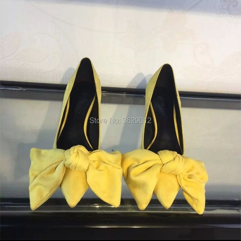D'été Chaussures Pointu Pompes Haute Dropship 10 Talons Bout Mode Cm Bowtie Noce Femme xwA080PqT