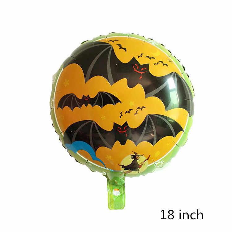 1 adet 60*88cm büyük karikatür yarasa folyo helyum balon siyah çocuklar yetişkinler için cadılar bayramı partisi odası dekorasyon çocuk oyuncağı