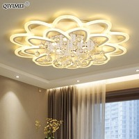 Surface Mounted Modern crystal Led Ceiling Lights For Living Room led deckenleuchte balloon lamp ceiling home fixtures partecho