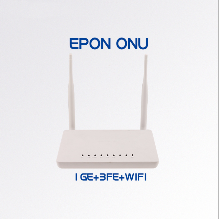 5pcs New Original Onu Ont Termianl Epon Hg8347r Hs8145c Port 1ge+3fe+tel+wifi English Version Compatible With Hua Wei Olt Communication Equipments Fiber Optic Equipments
