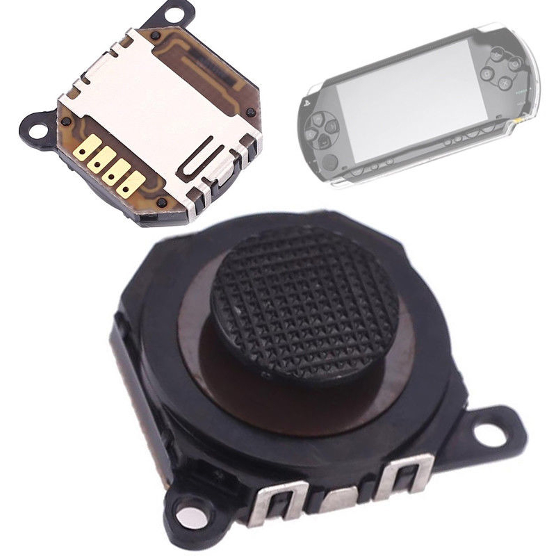 3D Analog Joysticks Replacement For Sony PSP 1000 High Quality Game Controller Button JoyStick Replacement Part Game Accessories-in Joysticks from Consumer Electronics