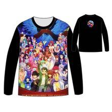 Hot Anime  YuYu Hakusho T-shirt Men Tops Unisex Cosplay dress  Long sleeve yu yu hakusho T shirt Tops Tees