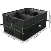 Автомобильный органайзер для багажника экологичный супер прочный и прочный складной грузовой ящик для хранения для авто грузовиков SUV коробка для багажника