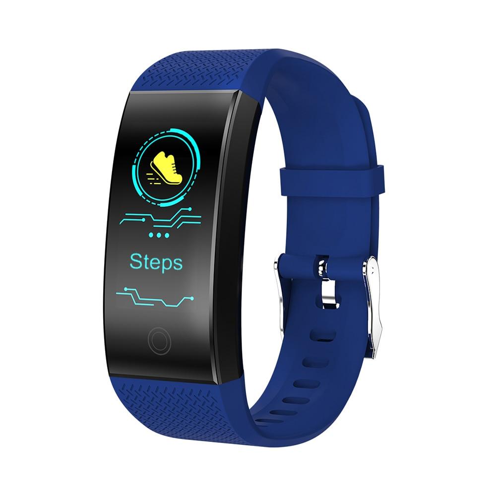 0.96in Tft Touchscreen Ip68 Wasserdichte Bt 4,0 Wirst Schrittzähler Herz Rate Blutdruck Run Schritt Walking Distance Zähler Festsetzung Der Preise Nach ProduktqualitäT Sport & Unterhaltung